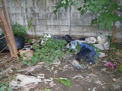不法投棄ゴミ1