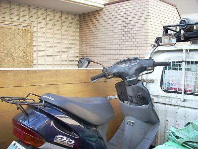 放置バイク マンション